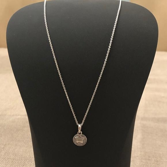 69306297a91e7 Pandora Celebration Stars Necklace 925 Sterling
